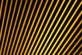Black and Yellow Stripes - Landscape Royalty Free Stock Images