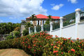 Blackbeards Castle in St Thomas Royalty Free Stock Photo
