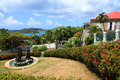 Blackbeards schloss in st thomas Stockbilder