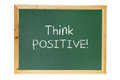 Blackboard with Inspiration Message Royalty Free Stock Images