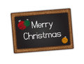 Blackboard - Merry Christmas Stock Images