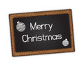 Blackboard - Merry Christmas Stock Photos