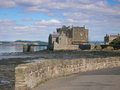 Blackness castle view of a th century fortress near the village of scotland on the south shore of the firth of forth the Stock Photos