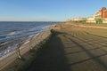 Blackpool Beach Esplanade Royalty Free Stock Photo