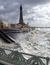 Blackpool Storm Stock Images
