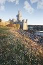 Blackrock castle cork ireland vertical shot of in Royalty Free Stock Images
