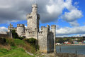 Blackrock observatory the historic medieval castle and at in cork ireland Royalty Free Stock Photo