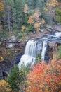 Blackwater Falls in autumn Royalty Free Stock Photo