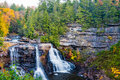 Blackwater Falls, West Virginia Royalty Free Stock Photo