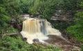 Blackwater River Falls West Virginia Royalty Free Stock Photo