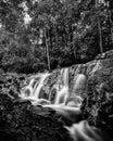 Blackwhite photos panorama of bintan island wonderful indonesia Royalty Free Stock Photo