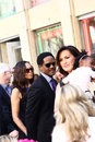 Blair underwood attends star ceremony Royalty Free Stock Image