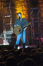 Blake shelton this is in concert in oklahoma in from oklahoma and is recently on the show the voice Stock Photography