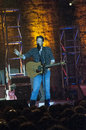Blake shelton this is in concert in oklahoma in from oklahoma and is recently on the show the voice Stock Photos
