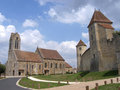 Blandy-les-Tours, Seine-et-Marne ( France ) Stock Photography