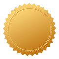 Blank agreement gold seal