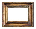 Blank antique frame Royalty Free Stock Photo