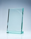 Blank award with copy space Royalty Free Stock Image