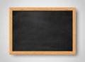 Blank black chalkboard. Background and texture.