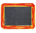 Blank  blackboard sign Stock Photography