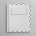 Blank book cover Royalty Free Stock Photo