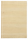 Blank book with wood texture cover Stock Images