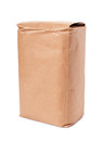 Blank brown craft paper bag Royalty Free Stock Photo