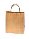 Blank brown paper bag Royalty Free Stock Photography