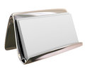 Blank Business Card Holder Copy Space for Your Text Words Messag
