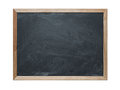 Blank chalkboard Royalty Free Stock Photo