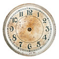 Blank clock dial without hands Royalty Free Stock Photo