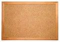Blank corkboard Royalty Free Stock Photo