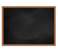 Blank dirty school board render Royalty Free Stock Photography
