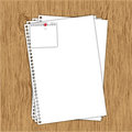 Blank document Stock Images