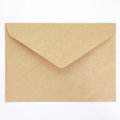 Blank envelope isolated on white background Stock Images