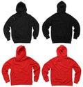 Blank hoodie sweatshirts Royalty Free Stock Photo