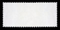 "Blank long rectangular postage stamp ""postage outline"" Stock Photos"