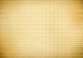 Blank millimeter old graph paper grid sheet background or textured Stock Photos