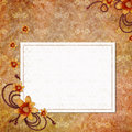 Blank note paper on textured background Royalty Free Stock Image