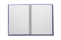 Blank NoteBook open two face Royalty Free Stock Photo