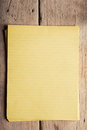 Blank notepaper raw unpainted hardwood sidelight Royalty Free Stock Image