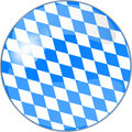 Blank oktoberfest button Royalty Free Stock Photo