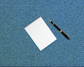 Blank opened notebook Stock Image