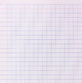 Blank paper background - blue grid pattern Royalty Free Stock Photo