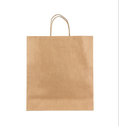 Blank paper bag Royalty Free Stock Photo