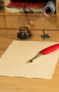 Blank parchment Royalty Free Stock Photo