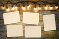 Blank photo frame album Royalty Free Stock Photo