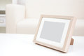 Blank photo frame with copy space Royalty Free Stock Photo