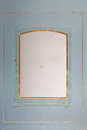 Blank photo frame side of ancient photo album and stained an old background retro vintage Royalty Free Stock Photos