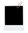 Blank polaroid frame Royalty Free Stock Photo